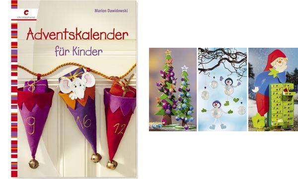christophorus bastelbuch adventskalender f r kinder ebay. Black Bedroom Furniture Sets. Home Design Ideas