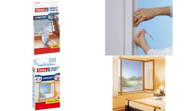 tesa insect stop fliegengitter comfort f r fenster auswahl ebay. Black Bedroom Furniture Sets. Home Design Ideas